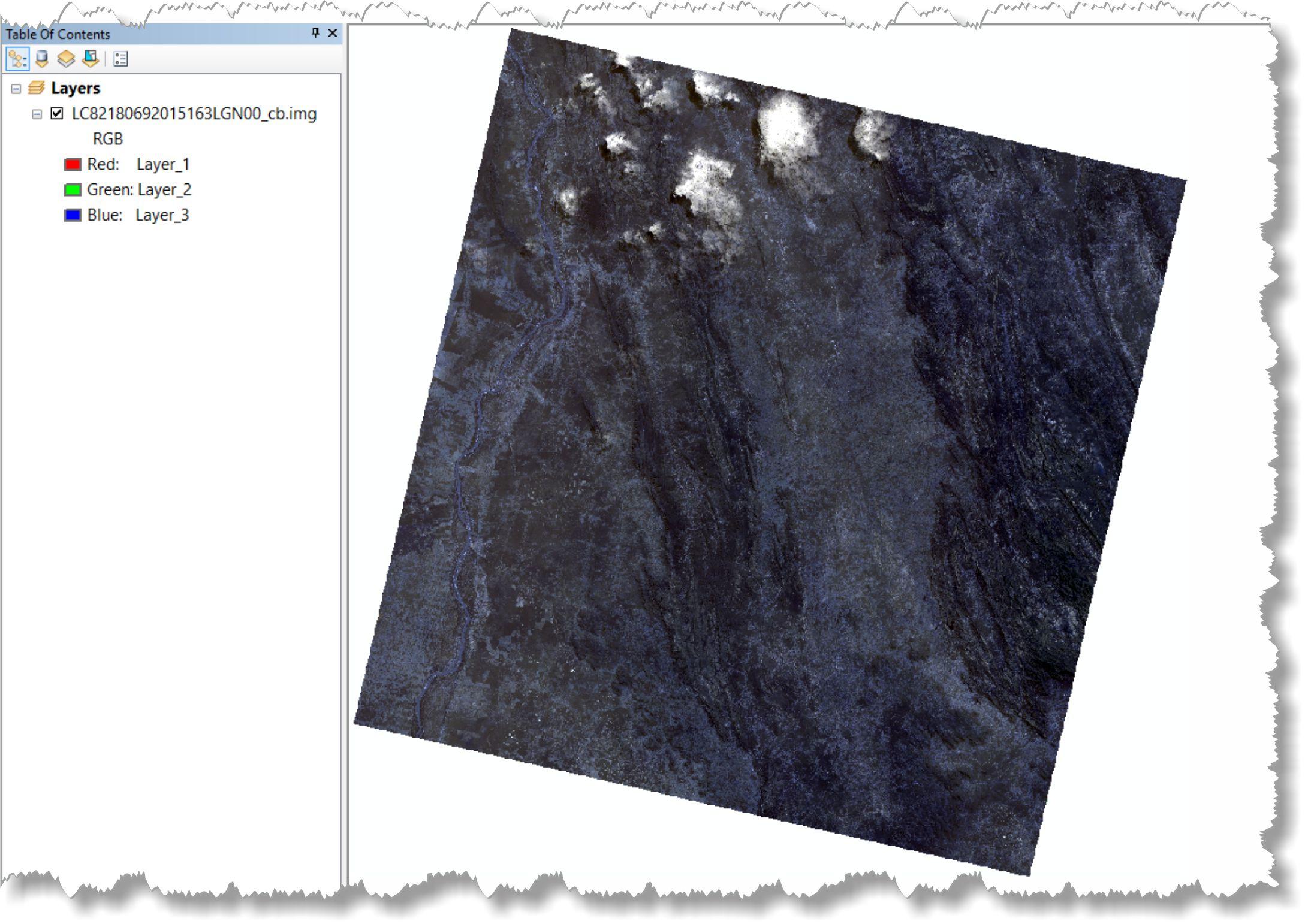 artigo 15 Artigo: Decifrando a ferramenta Composite Bands do ArcGIS