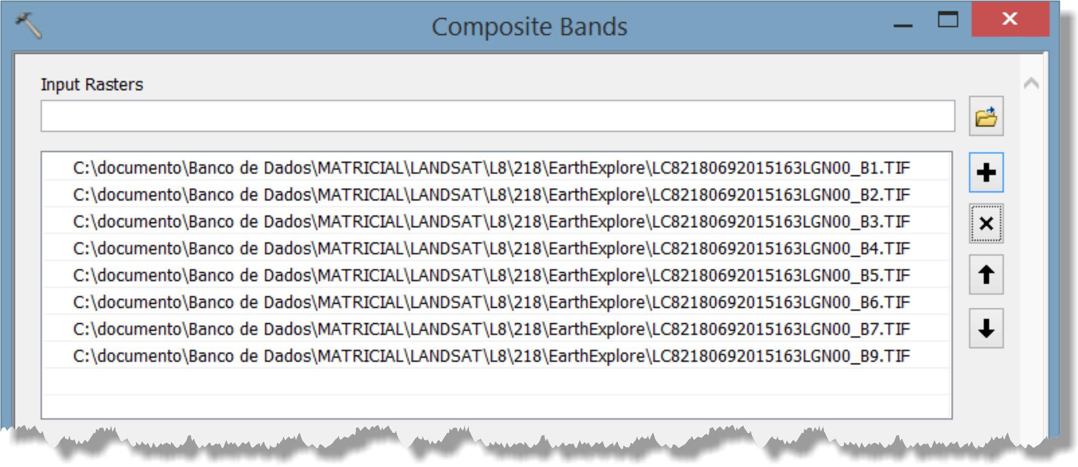 artigo 9 Artigo: Decifrando a ferramenta Composite Bands do ArcGIS