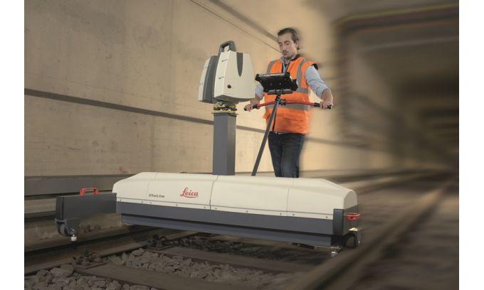 Survey grade 3D Point Clouds without GNSS for Efficient Rail Maintenance