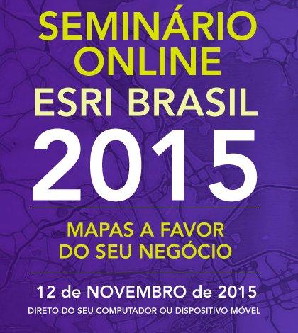 """seminario online esri imagem Imagem promove 1° Seminário Online com o tema: """"Mapas a favor do seu negócio"""""""