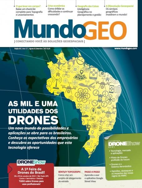 MundoGEO83 456x600 Nova revista MundoGEO já está disponível para ser acessada. Confira!