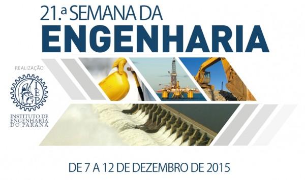 Semana da Engenharia IEP 600x355 IEP promove no mês de dezembro a 21ª Semana da Engenharia em Curitiba