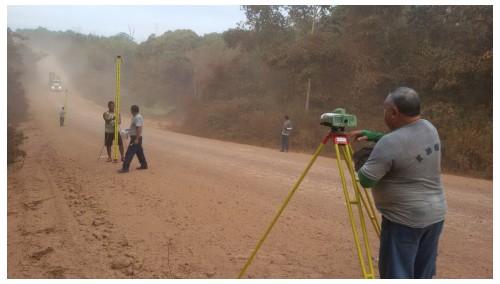 figura 3 geodesia A implantação da rede altimétrica do Sistema Geodésico Brasileiro no IBGE completa 70 anos