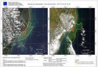200x136 images noticias ambientais 2015 dezembro satelite nasa Estudo do Ibama reúne 12 mil imagens da área impactada por rejeitos da Samarco