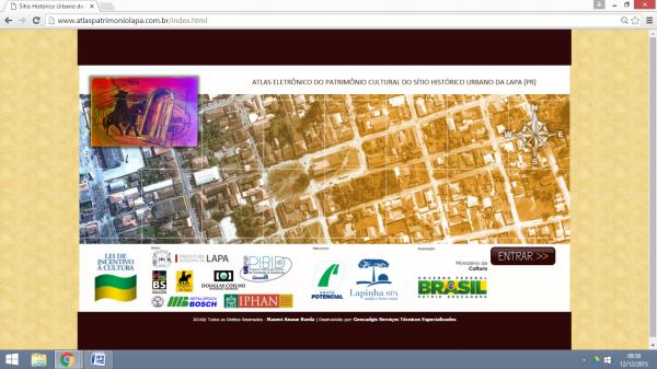 Atlas Eletronico lapa 600x337 Lançado o Atlas Eletrônico da cidade de Lapa, no Paraná