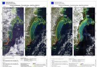 200x139 images noticias ambientais mapas pluma de rejeitos Ibama e ICMBio apuram se lama da Samarco atingiu Arquipélago de Abrolhos