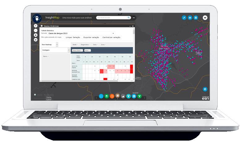 Imagem anuncia a nova solução web InsightMap