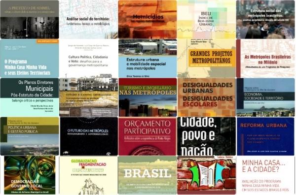Observatório das Metrópoles disponibiliza 70 livros para download gratuito