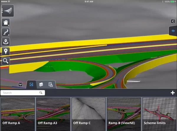 OpenRoads Navigator 600x446 Bentley lança App para ver e analisar projetos de engenharia