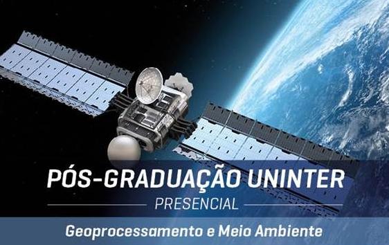 Uninter anuncia a turma 2016 de Geoprocessamento e Meio Ambiente