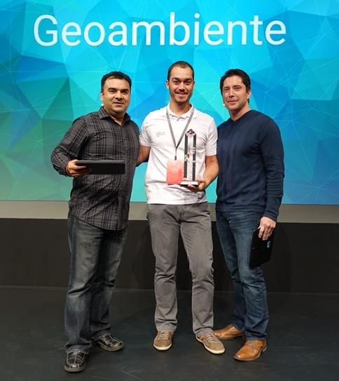 Geoambiente recebe prêmio Google de Negócios em Las Vegas Geoambiente recebe prêmio Google de Negócios em Las Vegas