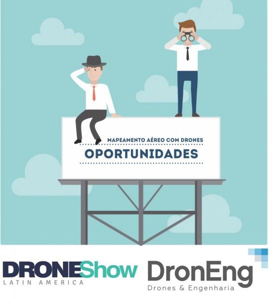 Oportunidades e Mercado drones 540x600 Palestra online: Oportunidades para atuar com Drones