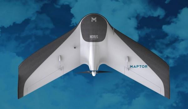 maptor horus 600x349 Lançamento: Horus anuncia novo Drone para mapeamento