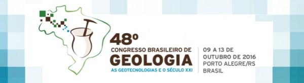 48 Congresso Brasileiro de Geologia 600x165 48° Congresso Brasileiro de Geologia busca trabalhos para a sessão sobre Geoaplicativos