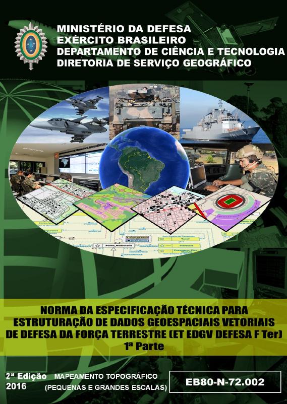 fgfd Exército Brasileiro lança especificação para mapeamento topográfico de grandes escalas