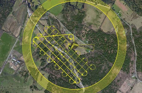 figura4 600x392 Artigo: Topografia de baixo custo com Drones