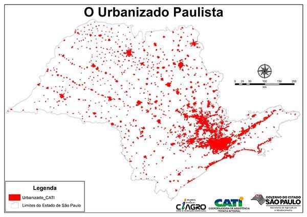 urbanizacao  CATI  Secretaria de São Paulo disponibiliza mapeamento de áreas urbanas para gestores públicos