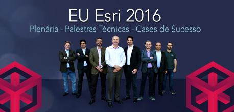 euesri 2016 plenaria Esri Portugal é parceira do Encontro de Usuários Esri Brasil