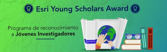 kkk Esri Young Scholar Award   Programa de reconocimiento a Jóvenes Investigadores