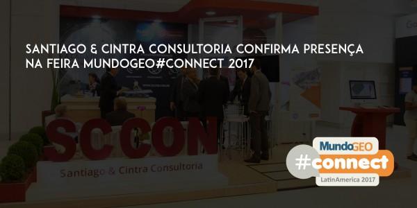 sccon700 3501 600x300 Santiago & Cintra Consultoria confirma presença na feira MundoGEO#Connect 2017