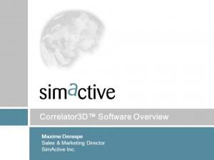 sim 300x225 AeroVironment escolhe o Correlator3D da SimActive para processar imagens de VANTs