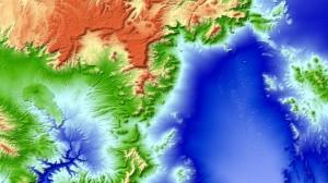 Nevada Testsite xl 300x168 Novo mapa 3D mundial disponível   modelo de elevação global TanDEM X