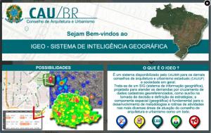 cau 300x189 CAU disponibiliza nova interface Geo para consulta a dados públicos