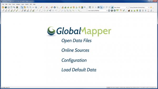 fff1 600x337 Lançamento do Global Mapper v.18 com mais capacidade de manuseio de dados 3D