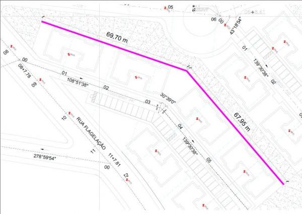 0021 600x425 Artigo: topografia aplicada ao monitoramento de estruturas   estudo de caso sobre muro de contenção