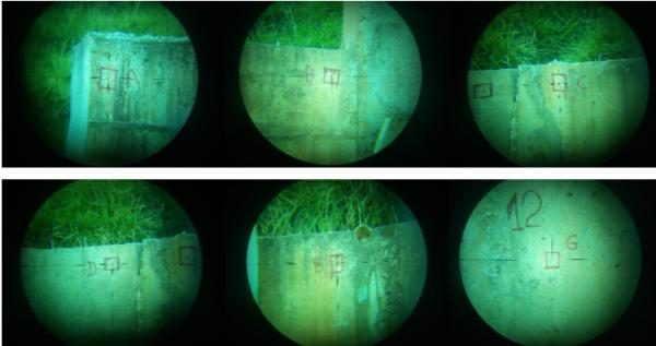 004 600x317 Artigo Topografia para monitoramento de estruturas   estudo de caso: muro de contenção