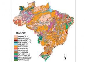 mapa 300x214 Programa da Embrapa pretende realizar mapeamento completo dos solos brasileiros