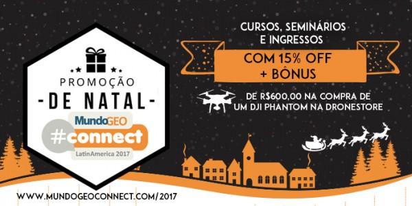 700 350 600x300 Promoção de Natal: atividades do MundoGEO#Connect com desconto e bônus!