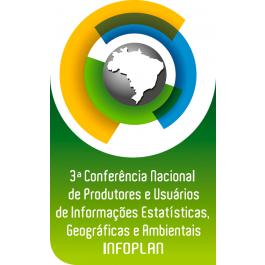 logo 3conferencia 1 IBGE debate com a comunidade o futuro das estatísticas e informações geocientíficas