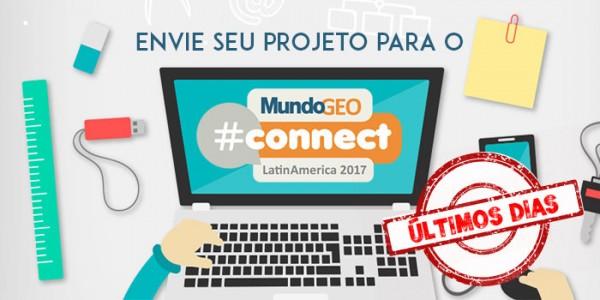 projeto mgeocon700 350 600x300 Últimos dias para enviar seu trabalho para o MundoGEO#Connect 2017