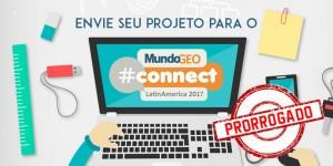 projeto mgeocon700 350  prorrogado 300x150 MundoGEO#Connect 2017 prorroga prazo para envio de trabalhos
