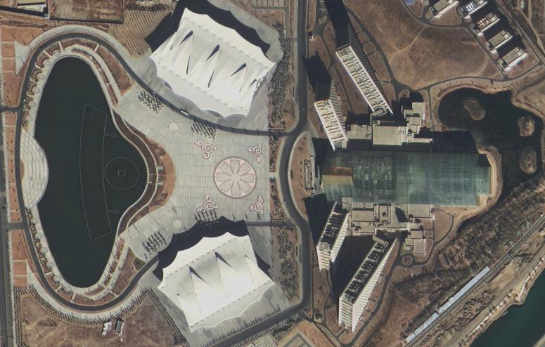1 170111183003 1 China recebe primeiras imagens dos novos satélites de alta resolução