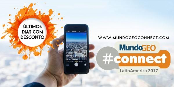DESCONTOS 12 1 600x300 Aproveite os últimos dias com desconto para o MundoGEO#Connect 2017