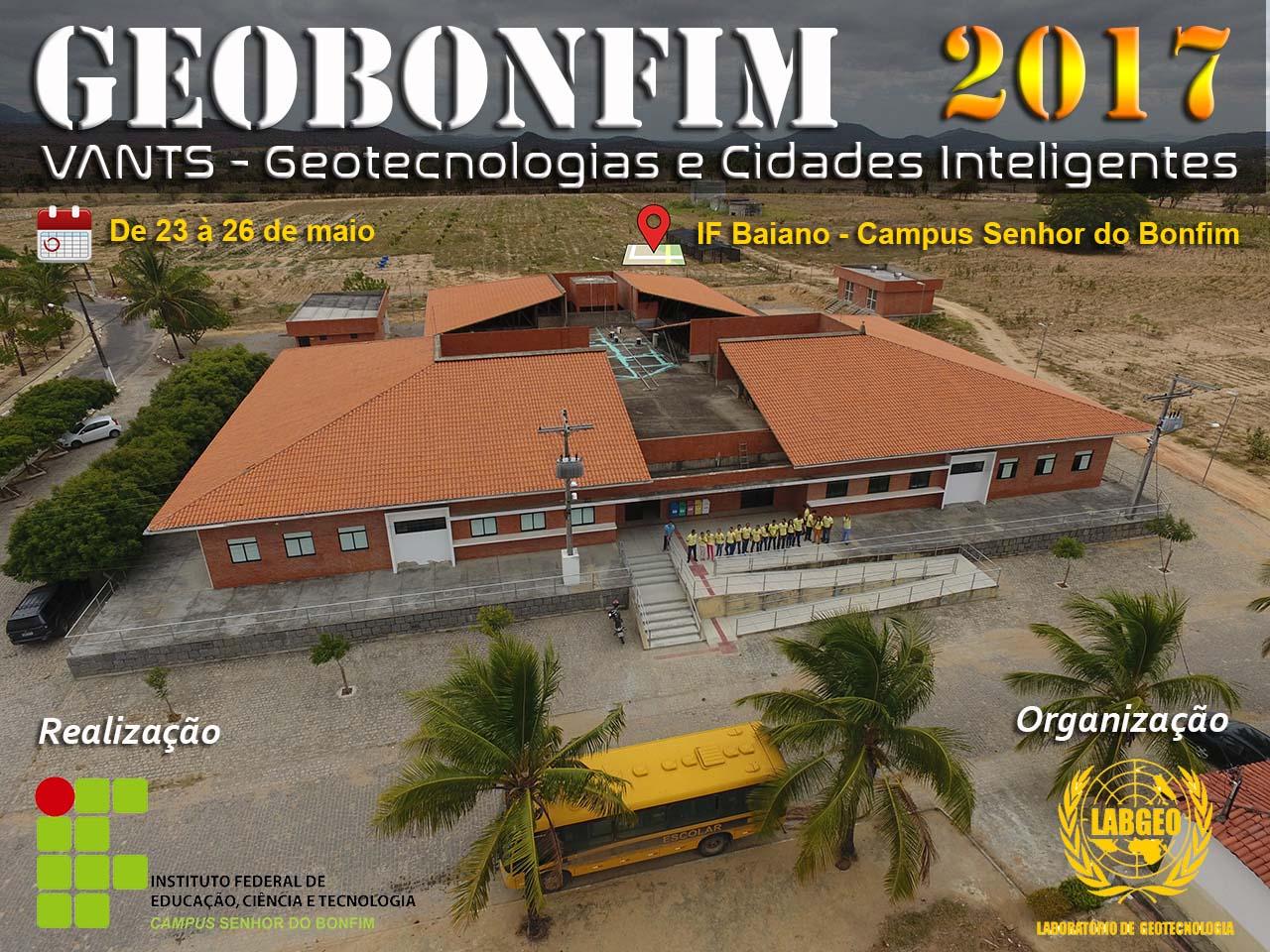 GeoBonfim 2017 já tem programação de palestras definida. Confira