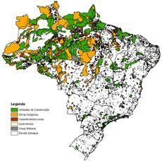 atribuicao terras brasil jan2017 Embrapa atualiza base de dados das terras legalmente atribuídas no Brasil