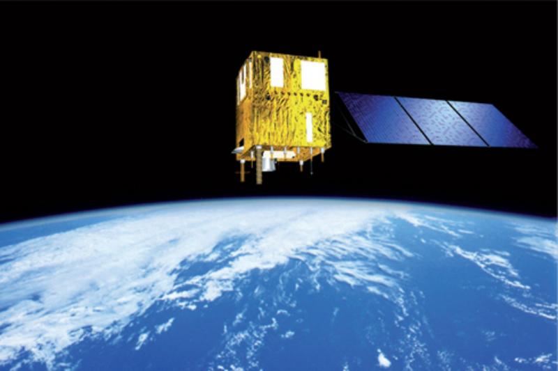 Inpe recebe imagens gravadas no computador de bordo do CBERS-4. Crédito: Inpe