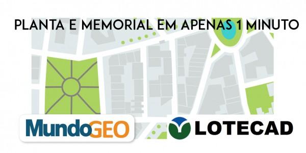 lotecad 2 600x300 Webinar com inscrição aberta: Planta e Memorial em apenas 1 minuto