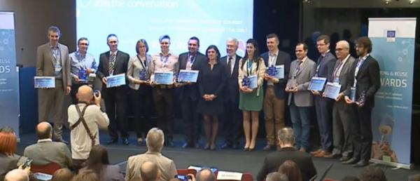 winners1 600x258 gvSIG recebe prêmio de melhor projeto europeu de software livre. Confira!