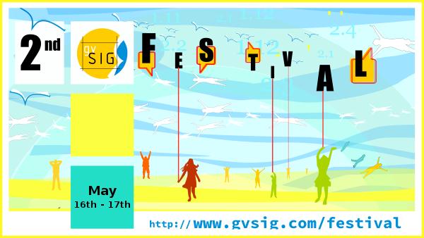 Home 2º gvSIG Festival Abiertas las inscripciones gratuitas para el 2o gvSIG Festival