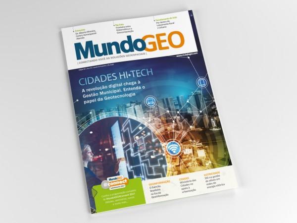 Render Capa mg90 600x450 Revista MundoGEO traz na capa as Cidades GeoInteligentes. Confira!