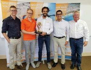 JALBTCX Award RIEGL Team1 300x231 Riegl recebe prêmio técnico em evento de mapeamento costeiro