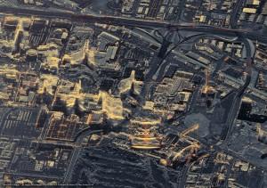 satellite image terrasar x las vegas usa c DLR e.V. 2016 Distribution Airbus DS Geo GmbH3 300x211 Airbus comemora 10 anos de precisão e confiabilidade do satélite TerraSAR X