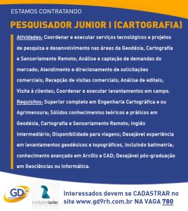 Pesquisador Junior 268x300 Vaga: Institutos Lactec contratam profissional para atuar na Divisão de Geossoluções