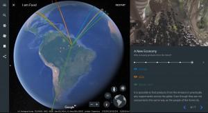 amazonia google earth 300x164 Novo Google Earth lança primeiras histórias interativas do Brasil. Confira!