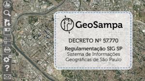 geosampa 300x168 Prefeitura de São Paulo oficializa GeoSampa como base oficial da cidade