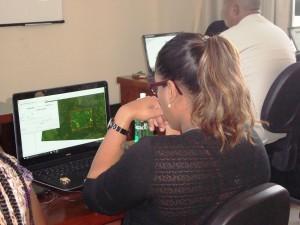 Curso de Capacitação em Monitoramento de Florestas no INPE Amazônia 300x225 Inpe treina técnicos para monitorar desmatamento na bacia amazônica